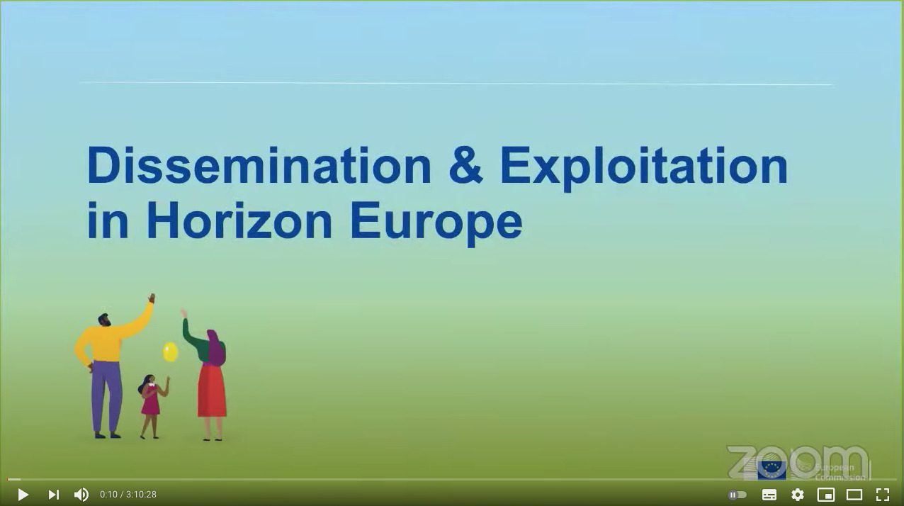Dissemination & Exploitation in Horizon Europe